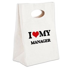 I love my Manager Canvas Lunch Tote