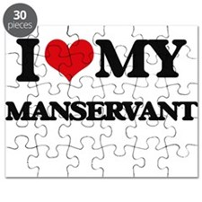I love my Manservant Puzzle