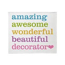 Amazing Decorator Throw Blanket