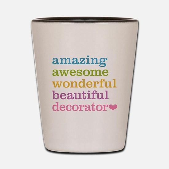 Amazing Decorator Shot Glass