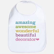 Amazing Decorator Bib