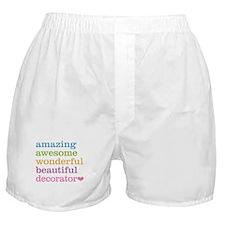 Amazing Decorator Boxer Shorts