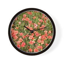 The Crimson Carpet Wall Clock