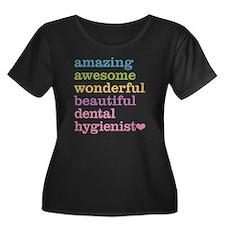 Dental Hygienist Plus Size T-Shirt