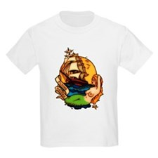 Mermaid n Pirate Ship Tattoo Art T-Shirt
