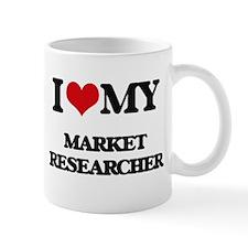 I love my Market Researcher Mugs