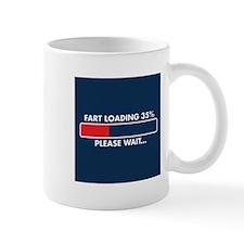 fart loading Mugs