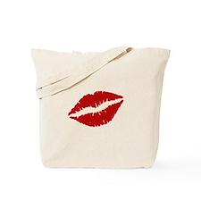Big Red Lips Tote Bag