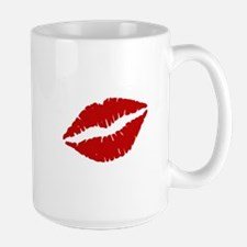 Big Red Lips Mugs