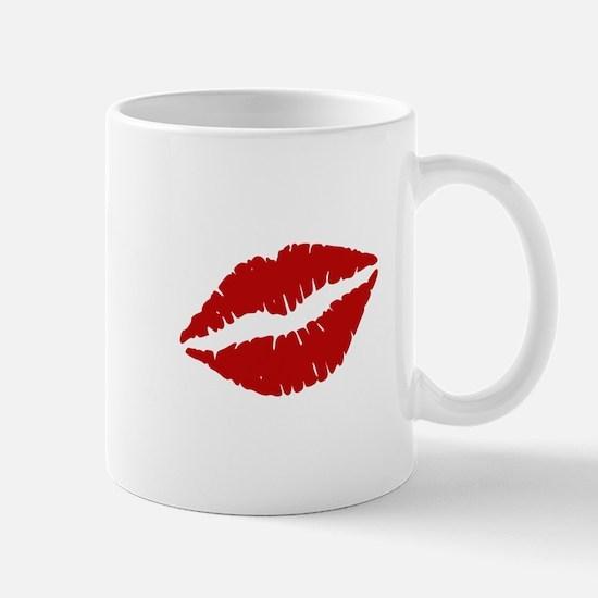 Big Red Lips Mugs