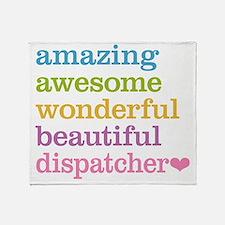 Amazing Dispatcher Throw Blanket