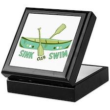 Sink Oar Swim Keepsake Box