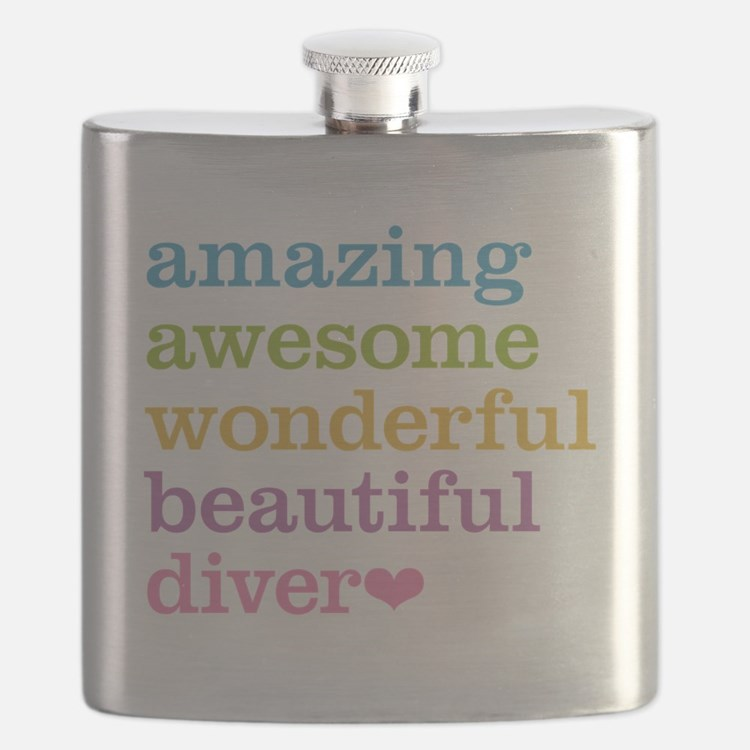 Amazing Diver Flask
