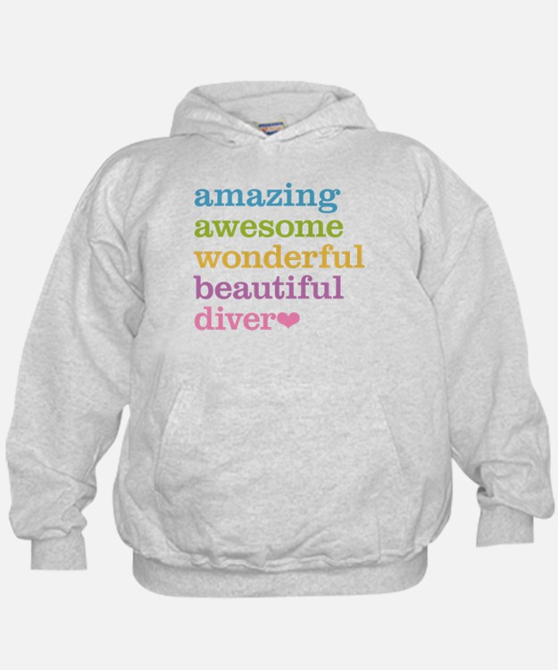 Amazing Diver Hoodie