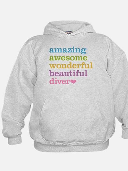 Amazing Diver Hoody