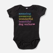 Dog Walker Baby Bodysuit