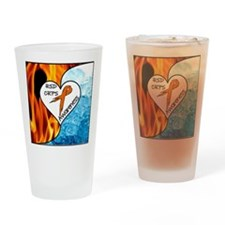 RSD*CRPS Fire & Ice Drinking Glass