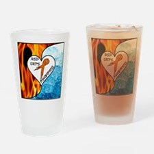 RSD*CRPS Fire & Ice Drinking Glass
