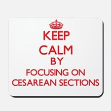Cesarean Sections Mousepad