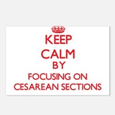 Cesarean Sections Postcards (Package of 8)