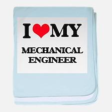 I love my Mechanical Engineer baby blanket