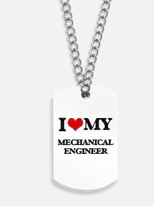 I love my Mechanical Engineer Dog Tags