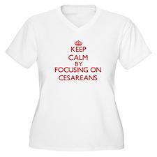 Cesareans Plus Size T-Shirt
