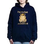 Hauling a Precious Load Women's Hooded Sweatshirt