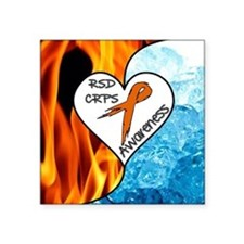 RSD*CRPS Fire & Ice Sticker