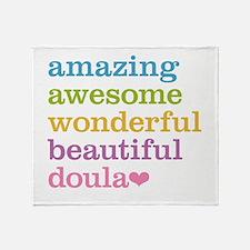 Amazing Doula Throw Blanket