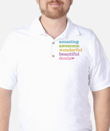 Amazing Doula Golf Shirt