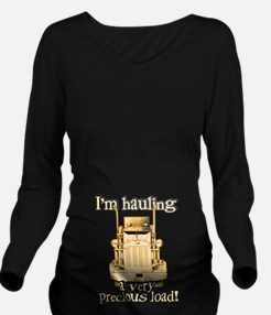 Hauling a Precious Load Long Sleeve Maternity T-Sh