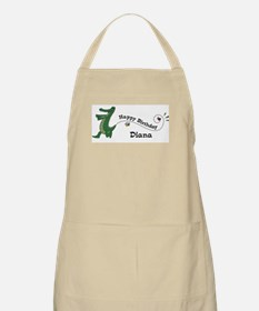 Happy Birthday Diana (gator) BBQ Apron
