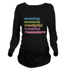 Amazing Dressmaker Long Sleeve Maternity T-Shirt