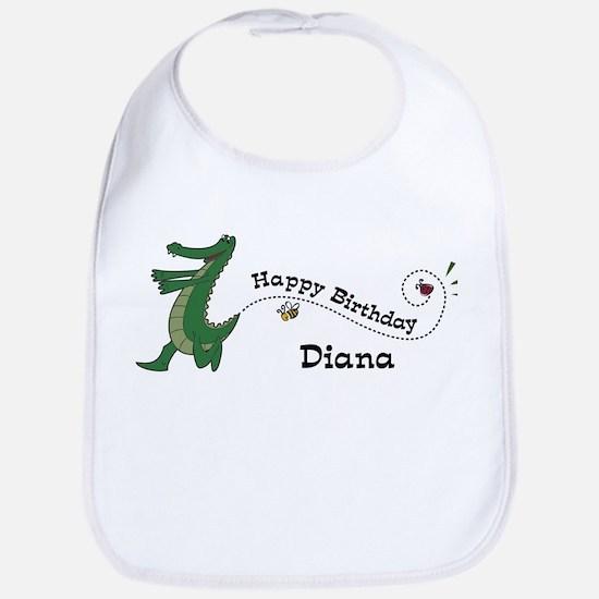Happy Birthday Diana (gator) Bib