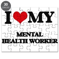 I love my Mental Health Worker Puzzle