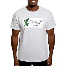 Happy Birthday Anna (gator) T-Shirt