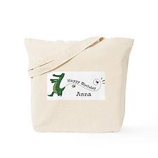 Happy Birthday Anna (gator) Tote Bag