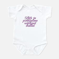 Life is pointeless - Infant Bodysuit