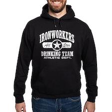 Ironworker's Drinking Team Hoodie