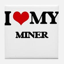 I love my Miner Tile Coaster