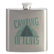 Intense In Tents Flask