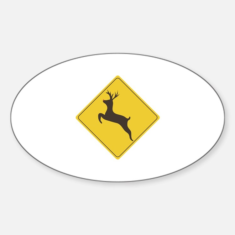Rudolph Crossing Decal
