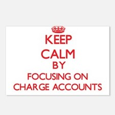 Charge Accounts Postcards (Package of 8)