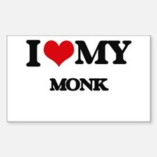 I love my Monk Decal