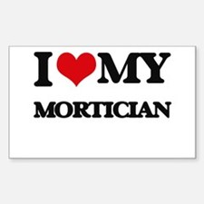 I love my Mortician Decal