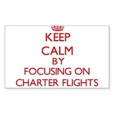 Charter Flights Decal