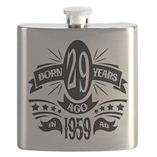 29th Birthday 1959 Flask