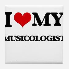 I love my Musicologist Tile Coaster