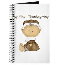 My First Thanksgiving - Girl Journal